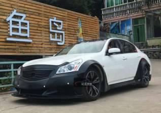 Обвес кузова аэродинамический. Infiniti G35, V36 Infiniti G25, V36 Infiniti G37, V36 Nissan Skyline, KV36, NV36, PV36, V36. Под заказ