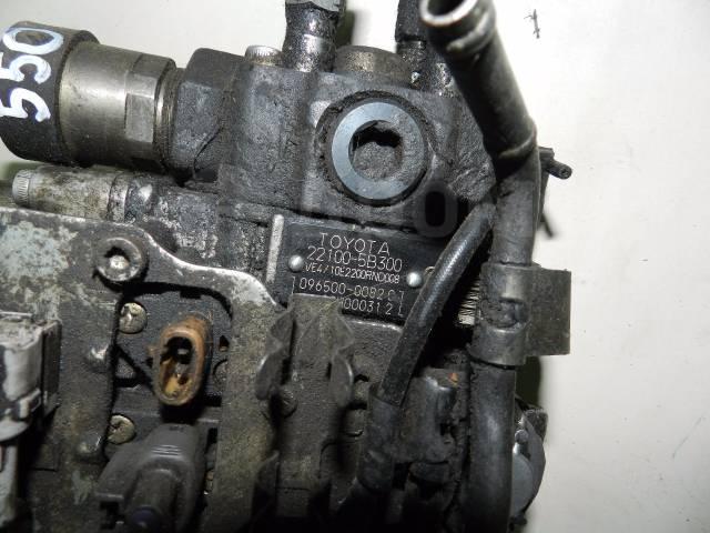 Насос топливный высокого давления. Toyota: Regius Ace, Crown, Land Cruiser, Hiace, Land Cruiser Prado, Hilux Двигатели: 2LTE, 2LTHE