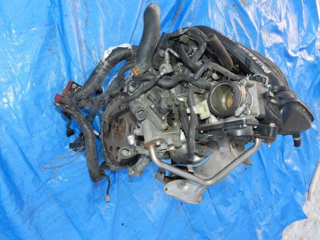 Двигатель в сборе. Nissan: Wingroad, Bluebird Sylphy, Cube, Tiida Latio, Latio, March, Cube Cubic, Tiida, AD, Note Двигатель HR15DE