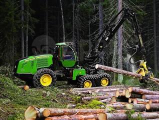 John Deere. Лесозаготовительная техника Новосибирске, Омске