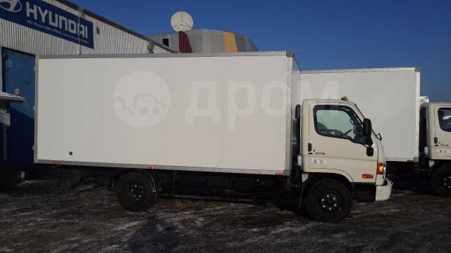 Hyundai HD78. Изотермический фургон Hyundai HD 78, 3 929куб. см., 4 149кг.