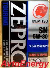 Idemitsu. Вязкость 5W30, синтетическое