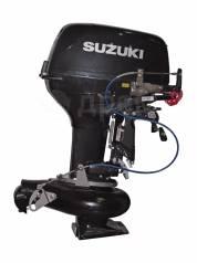 Suzuki. 30,00л.с., 2-тактный, бензиновый, нога S (381 мм), 2018 год год