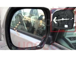 Стекло зеркала. Toyota Land Cruiser Prado, GDJ150, GDJ150L, GDJ150W, GDJ151W, GRJ150, GRJ150L, GRJ150W, GRJ151W, KDJ150, KDJ150L, LJ150, TRJ150, TRJ15...