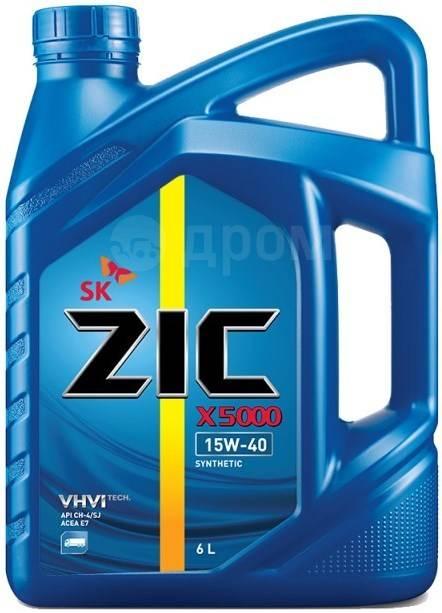 ZIC XQ. Вязкость 15W-40, полусинтетическое. Под заказ