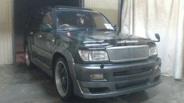 Накладка на фару. Toyota Land Cruiser, FZJ100, HDJ100, HDJ100L, J100, UZJ100, UZJ100L, UZJ100W
