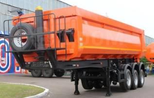 Нефаз 9509-30. Полуприцеп Нефаз 9509-32-30(овальный кузов имп. сталь), 33 000кг.