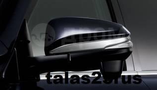 Накладка на зеркало. Toyota Voxy, ZRR80, ZRR80G, ZRR80W, ZRR85, ZRR85G, ZRR85W, ZWR80, ZWR80G, ZWR80W