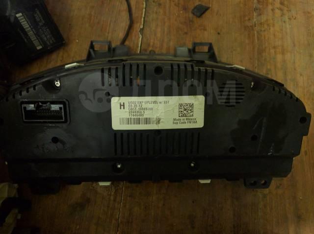 Панель приборов. Ford Explorer, U502 Двигатель DURATECTIVCT