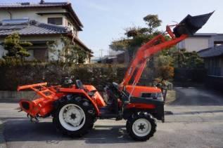 Kubota. GL-25 трактор. Фронтальник, фреза, 4WD., 25 л.с. Под заказ
