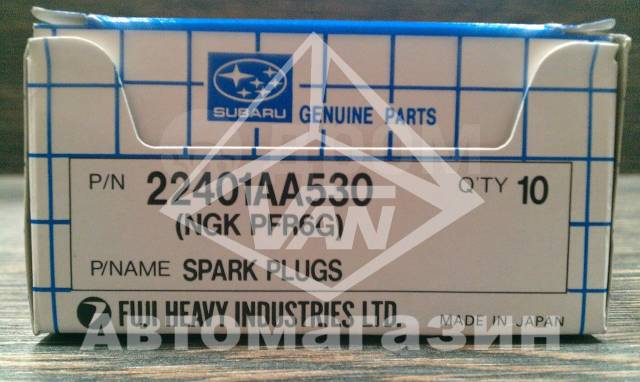 Свеча зажигания. Subaru Forester, SG5 Subaru Legacy, BC5, BD5, BE5, BES, BF5, BG5, BH5 Subaru Impreza, GC8, GD9, GDA, GF8, GG9, GGA Двигатели: EJ205...