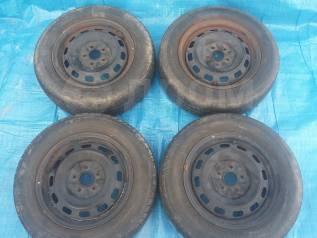 """185/65R14 Bridgestone B-style лето комплект 60% + диск 5x100. 5.5x14"""" 5x100.00 ЦО 54,0мм."""