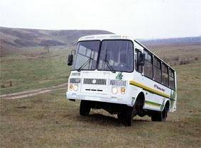 ПАЗ 3206. Автобус -110-60 северный вездеход (4х4) (25 мест), 25 мест