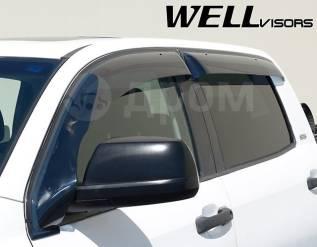 Ветровик на дверь. Toyota Sequoia Toyota Tundra, GSK50, GSK51, USK51, USK56 Двигатели: 1GRFE, 3URFE