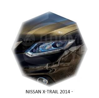 Накладка на фару. Nissan X-Trail, DNT31, HNT32, HT32, NT31, NT32, T31, T32, TNT31 Двигатели: M9R, MR20DD, MR20DE, QR25DE, R9M