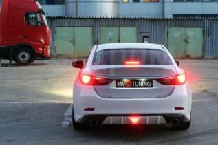 Крышка багажника. Mazda Mazda6, GJ Двигатели: PEVPS, PYVPS, SHY1