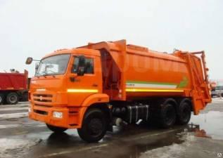 КамАЗ 65115. МК-4446-38 NEW мусоровоз на шасси Камаз-65115-773081-42 б/к, с портал, 12 000куб. см.