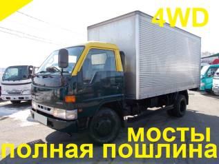 Hino Ranger. 4WD, мебельная будка 4,4м., 4 100куб. см., 4 000кг., 4x4