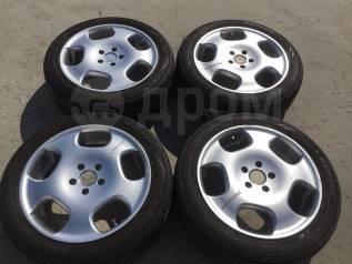 """225/50 R18 Dunlop Enasave RV503 литые диски 5х114.3 (L10-14). 7.5x18"""" 5x114.30 ET52"""