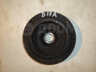 Шкив коленвала. Honda FR-V Honda Edix, BE2, BE1 Honda Stream, RN2, RN1 Двигатели: D17A2, K20A9, N22A1, R18A1, D17A, K20A1