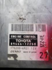 Блок управления двс. Toyota Corolla Fielder, ZZE122, ZZE122G Двигатель 1ZZFE