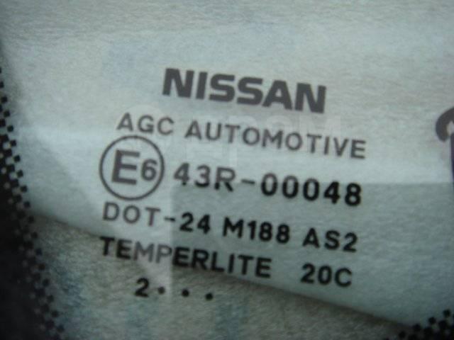 Стекло боковое. Nissan Qashqai, J10E Двигатели: HR16DE, K9K, M9R, MR20DE, R9M