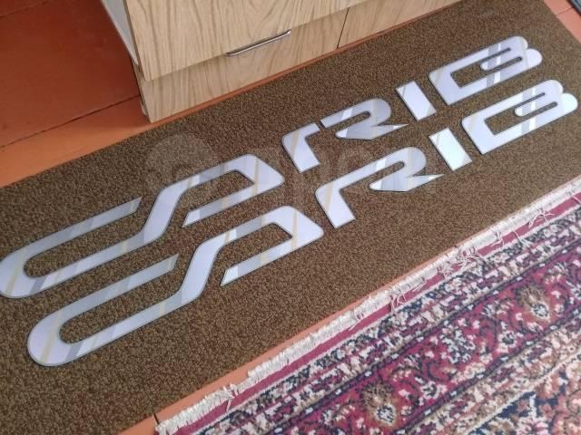Наклейка. Toyota Sprinter Carib, AE115, AE115G