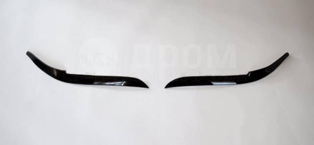 Накладка на фару. Toyota Corolla, NZE120, NZE121, NZE124, ZZE122, ZZE124 Двигатели: 1NZFE, 1ZZFE, 2NZFE