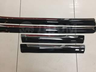 Накладка на боковую дверь. Toyota Land Cruiser Prado, GDJ150, GDJ150L, GDJ150W, GRJ150, GRJ150L, GRJ150W, KDJ150, KDJ150L, LJ150, TRJ150, TRJ150L, TRJ...