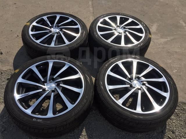 "225/45 R18 Dunlop Enasave RV503 литые диски 5х114.3 (К7-1801). 7.5x18"" 5x114.30 ET48"