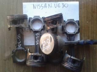 Поршень. Nissan: Cedric, Laurel, Caravan, Maxima, 300ZX, Leopard, Gloria, Pickup, Homy Двигатели: VG30E, VG30S, CA20S, L24E, LD28, RD28, VG30, VG30T