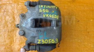 Суппорт тормозной. Infiniti: FX30d, G35, QX70, M25, M37, M35 Hybrid, M56, FX50, M45, M35, Q70, QX50, G25, G37, FX45, EX35, FX35, EX37, FX37, EX25 Двиг...