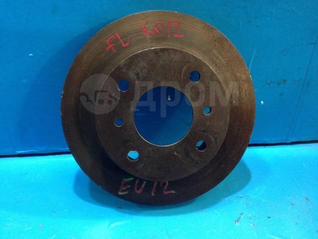 Диск тормозной. Nissan Bluebird, ENU12, EU12, HAU12, HNU12, HU12, RNU12, RU12, SU12, U12 Двигатели: CA16S, CA18D, CA18DE, CA18DET, CA18DT, CA18I, LD20...