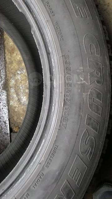 Bridgestone Ice Cruiser. Зимние, шипованные, 2012 год, 5%, 4 шт