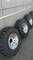 """Комплект внедорожных колес. 8.0x15"""" 5x139.70 ET0 ЦО 108,7мм."""