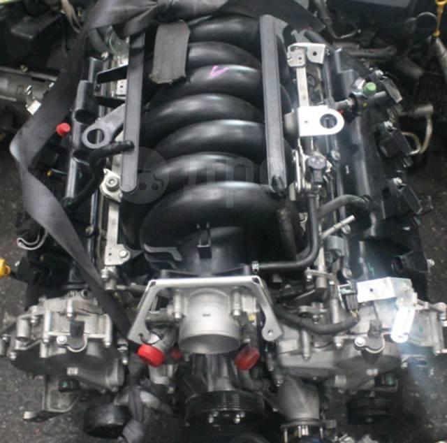 Двигатель в сборе. Nissan Patrol, Y62