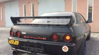 Спойлер. Nissan Skyline, BNR32