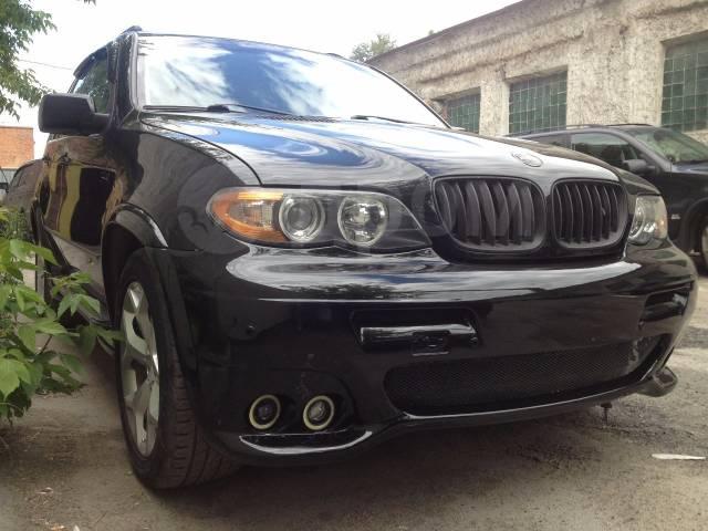 Обвес кузова аэродинамический. BMW X5, E53