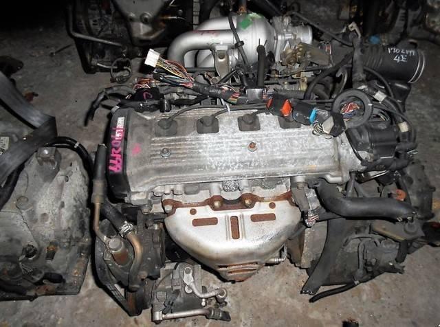 Двигатель в сборе. Toyota: Corsa, Sprinter, Corolla II, Corolla, Tercel, Starlet Двигатели: 4EFE, 4EF