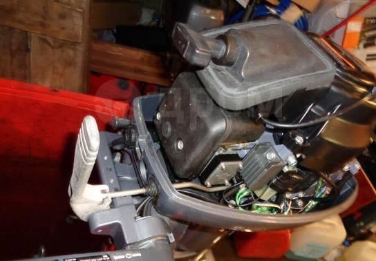 Yamaha. 9,90л.с., 2-тактный, бензиновый, нога S (381 мм), 2006 год год