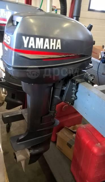 Yamaha. 9,90л.с., бензиновый, нога S (381 мм), 1998 год год