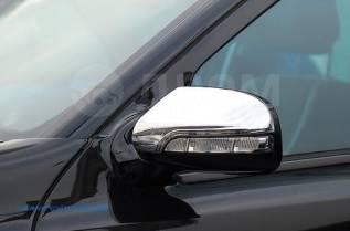 Накладка на зеркало. Mercedes-Benz E-Class, W211. Под заказ