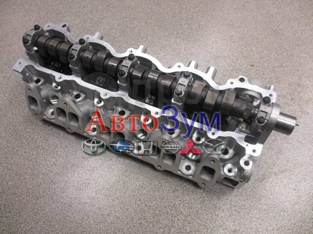 Головка блока цилиндров. Mazda MPV, LVLR Двигатель WLT