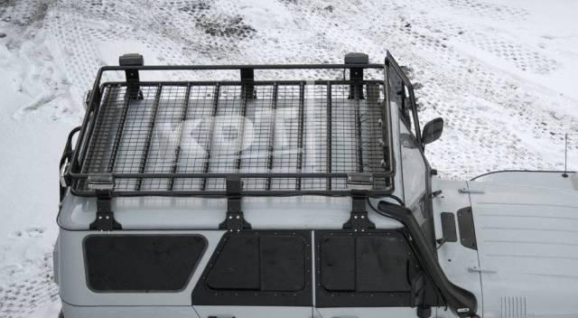 Багажники-корзины. УАЗ Хантер, 315195 Двигатели: ZMZ40905, ZMZ51432