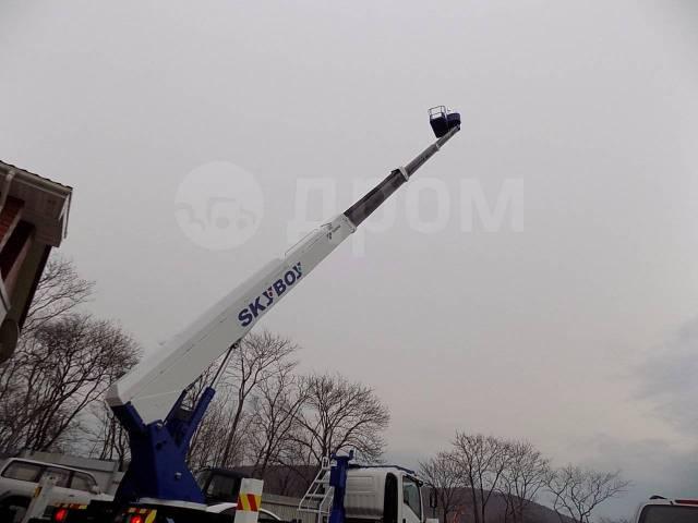 Isuzu Forward. Автовышка AT270TG(Япония) -27 метров на базе Isuzu во Владивостоке, 5 193куб. см., 27м.