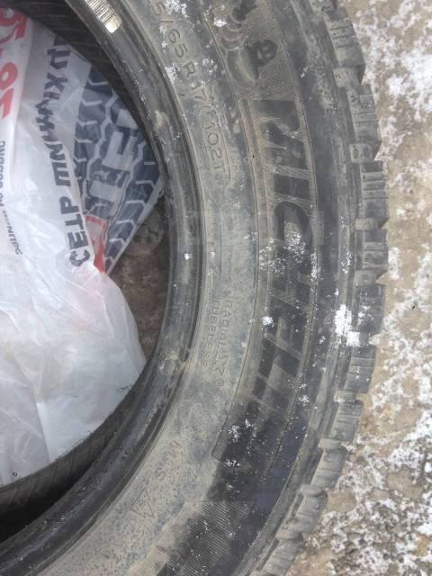 Michelin. Зимние, шипованные, 2012 год, 60%, 4 шт