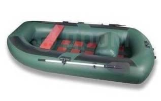 Лодка ПВХ Комфорт 300, зеленая. длина 2,95м., 2,50л.с.
