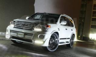 Обвес кузова аэродинамический. Toyota Land Cruiser, GRJ200, J200, URJ200, URJ202, URJ202W, UZJ200, UZJ200W, VDJ200 Двигатели: 1URFE, 1VDFTV, 3URFE. По...
