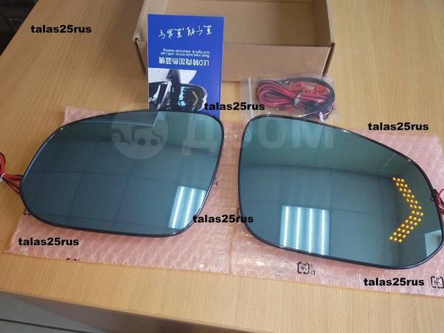 Полотна зеркал Toyota Noah 80, Toyota Voxy 80 (Подогрев. Повторитель). Toyota Voxy, ZRR80, ZRR80G, ZRR80W, ZRR85, ZRR85G, ZRR85W, ZWR80, ZWR80G, ZWR80...