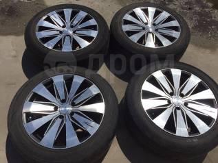 """225/55 R18 Dunlop Enasave RV503 литые диски 5х114.3 (L12-1808). 8.0x18"""" 5x114.30 ET38"""